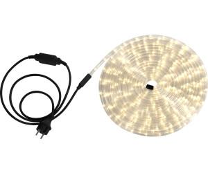 9m LED Lichtschlauch GELB 216 LEDs 230V Stecker Lichterschlauch für Außen Garten