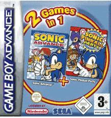 Sonic Advance & Sonic Pinball Party (GBA)