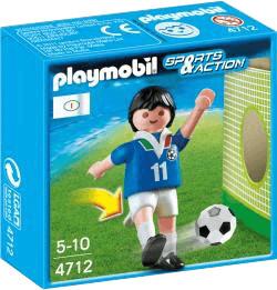Playmobil Fußball Fußballspieler Italien (4712)