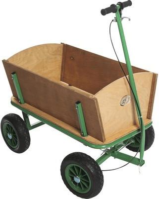 AXI Bollerwagen braun-grün
