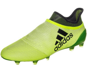 X 17+ PURESPEED SG - Fußballschuh Stollen - grey/real coral/core black