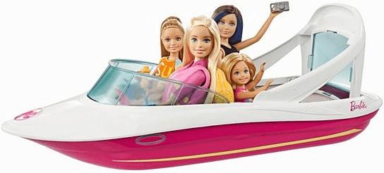 Barbie Magie der Delfine - Abenteuerboot (FBD82)