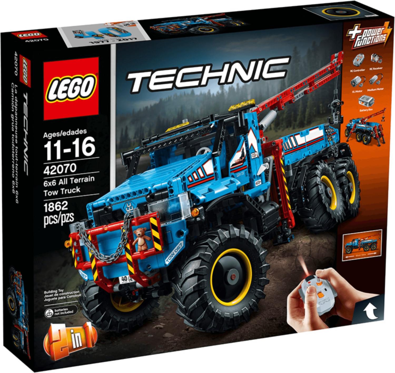 LEGO Technic - La dépanneuse tout-terrain 6x6 (42070)