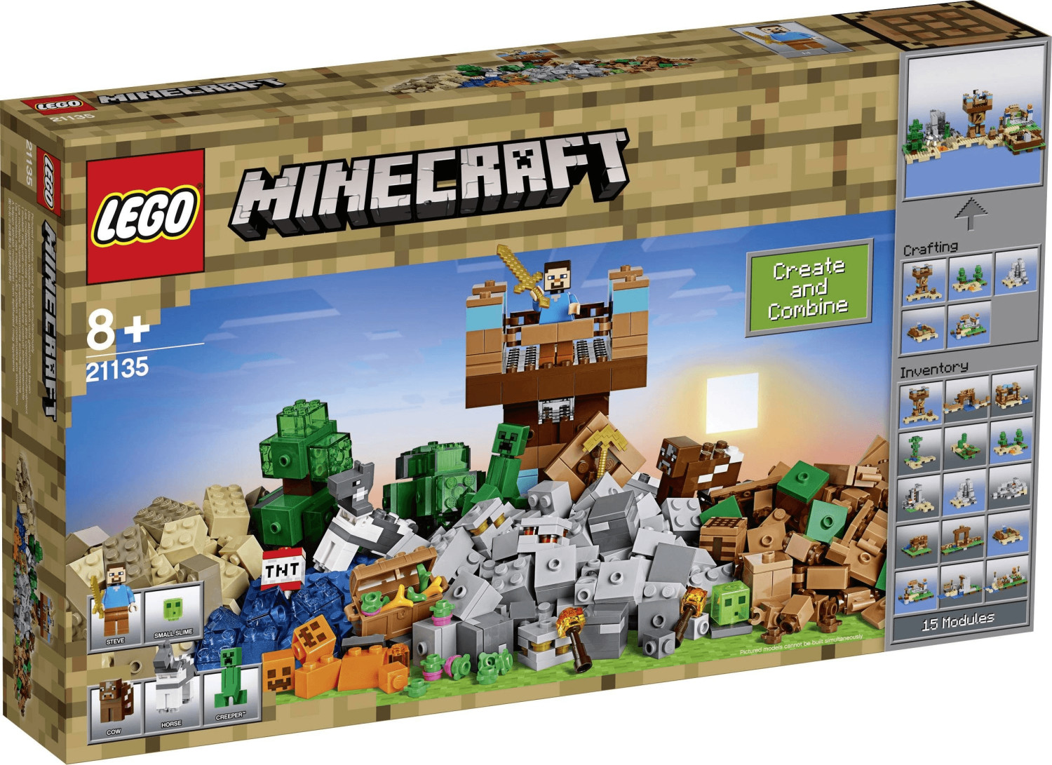 LEGO Minecraft - Crafting-Box 2.0 (21135)