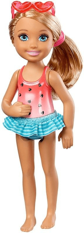 Barbie Club Chelsea Mini - Swimming (DWJ34)