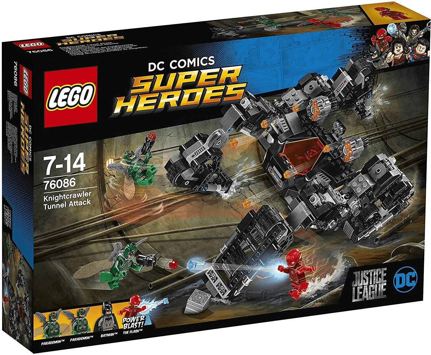 LEGO DC Comics Super Heroes - Knightcrawlers Tunnel-Attacke (76086)