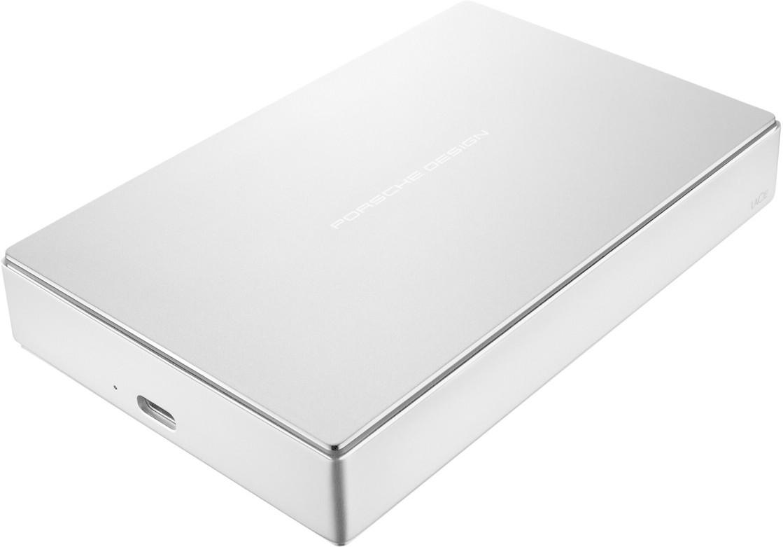 LaCie Porsche Design Mobile Drive USB-C 5TB silver