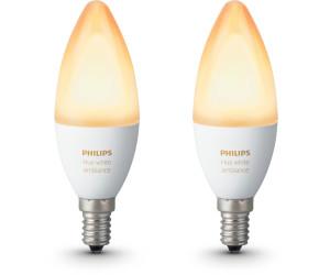 Hue Lampen E14 : Philips hue white ambiance e doppelpack ab