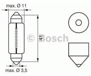 Bosch C10W 12V 10W (1 987 302 210)