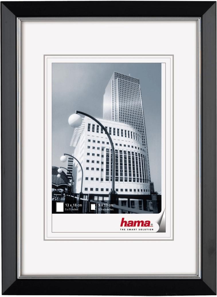 Image of Hama Plastic Picture Frame Valencia 10x15 black