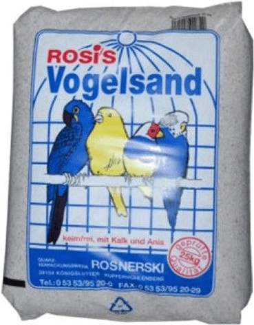 Rosis Vogelsand weiß 2,5 kg