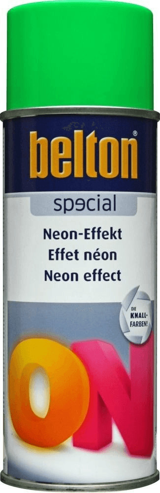belton Special Neon-Effekt Spray Grün seidenmat...