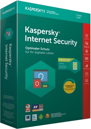 Image of Kaspersky Internet Security (1 Device) (1 Year) (PKC)