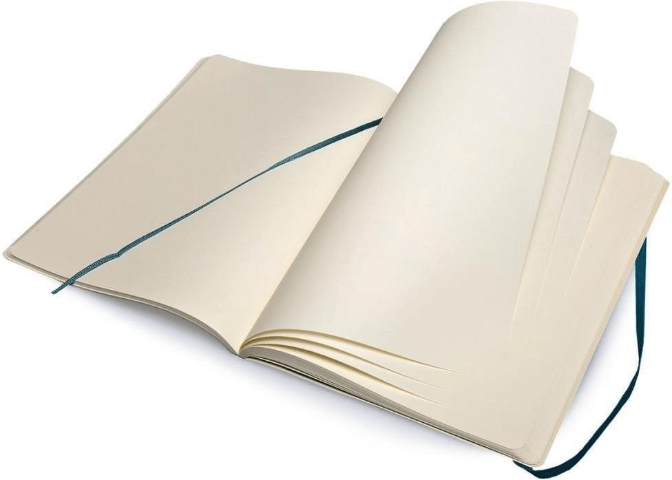 Moleskine Notizbuch Extra Large Softcover Blanko blau