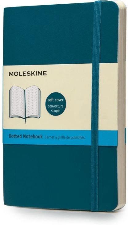 Moleskine Pocket punktraster Softcover blau