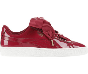 2aac22c57da088 Buy Puma Basket Heart Patent tibetan red tibetan red from £57.49 ...