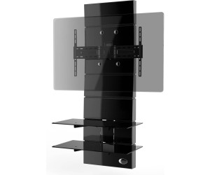 meliconi tv wandhalterung starr ghost design 3000 ab 171. Black Bedroom Furniture Sets. Home Design Ideas