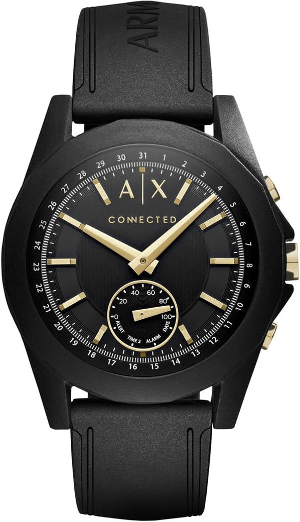Image of Armani Exchange Connected black gold