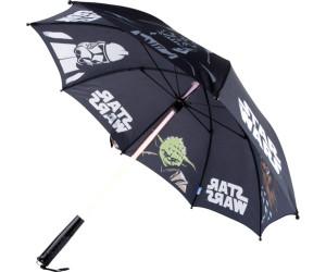 Undercover Star Wars Kylo Lichtschwert Regenschirm mit Leuchtfunktion schwarz