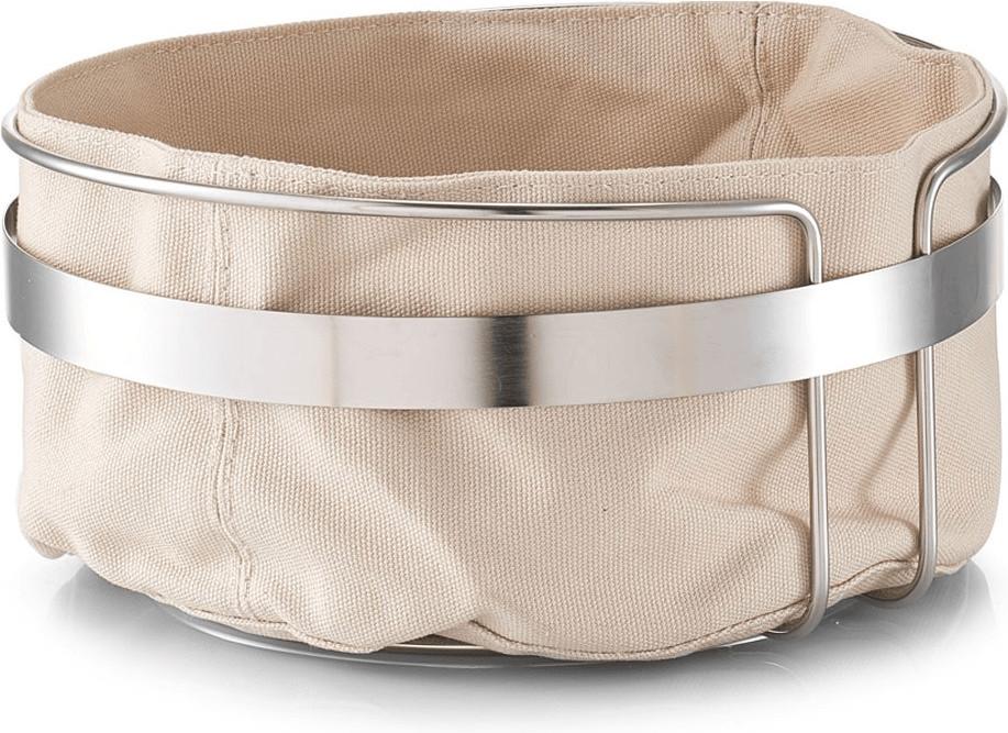 Zeller Bread basket with bag 22 cm