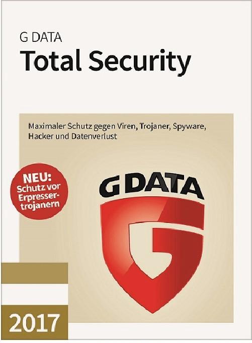 #G Data Total Security 2017 (5 Geräte) (3 Jahre) (ESD)#
