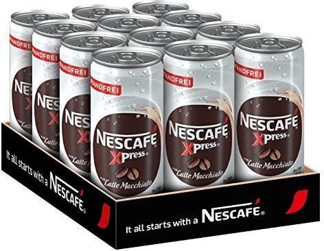 Nescafé Xpress Latte Macchiato Dose (12 x 250ml)