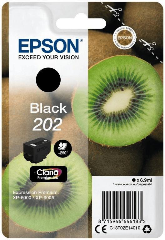 Epson 202 schwarz (C13T02E14010)
