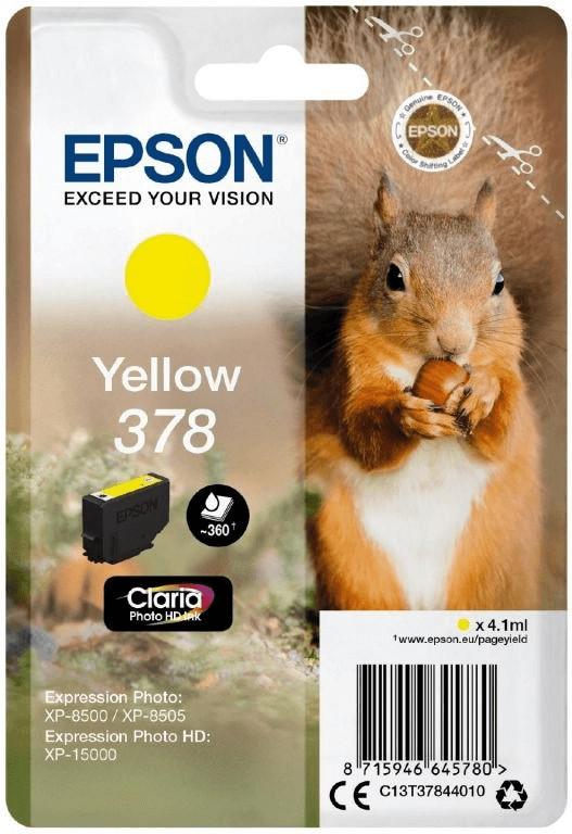 Epson 378 gelb (C13T37844010)