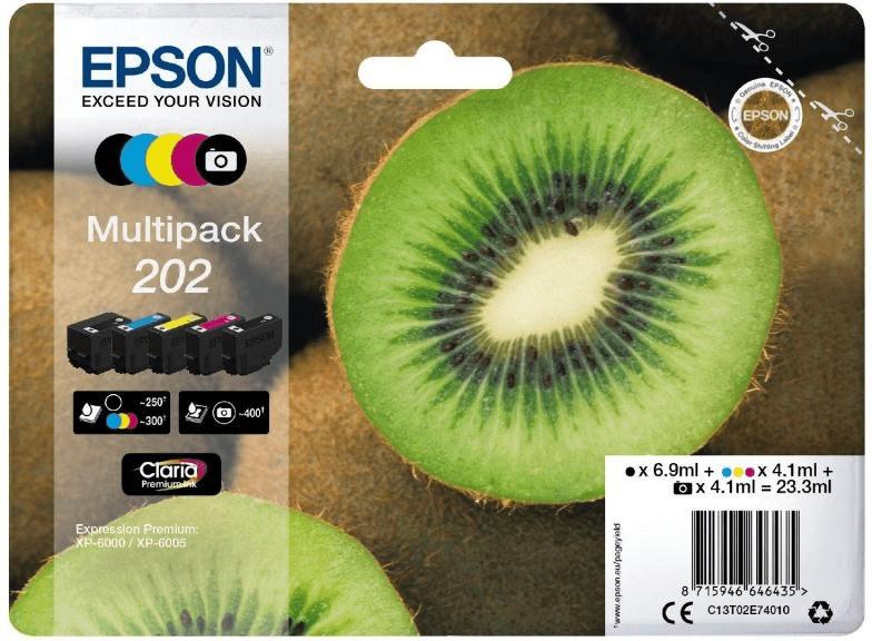 Epson 202 5-farbig Multipack (C13T02E74010)