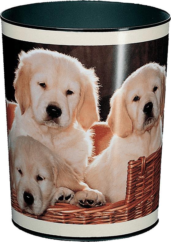 Läufer Papierkorb 13 L Hunde