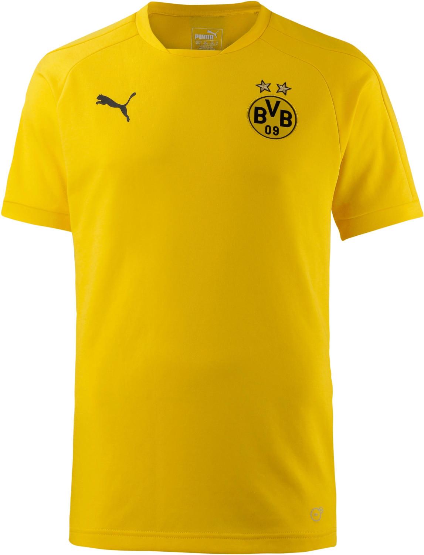 Puma BVB Casual T-Shirt cyber yellow