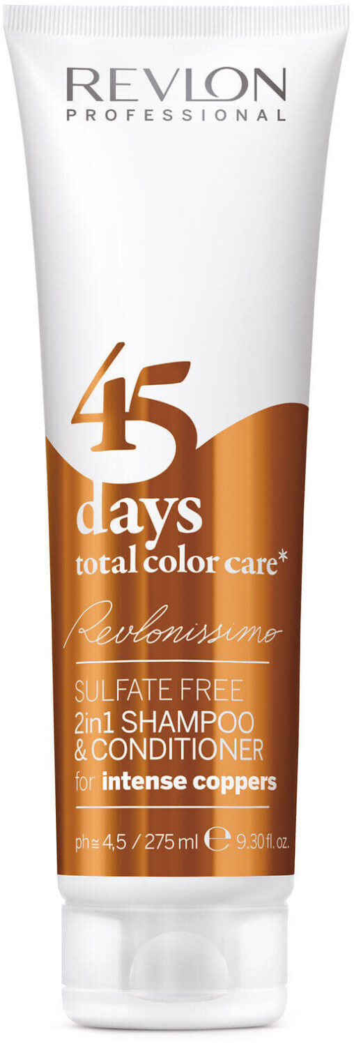 Image of Revlon 45 Days Total Color Care Shampoo Intense Coppers (275ml)