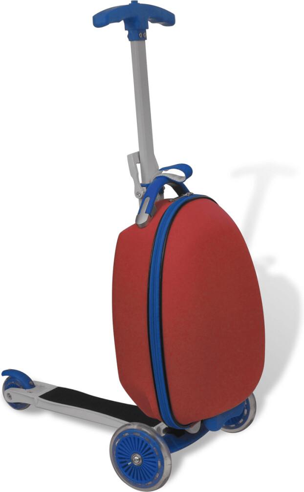 Image of VidaXL Monopattino con valigia
