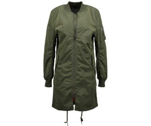 Alpha Industries MA-1 TT Coat Wmn sage-green