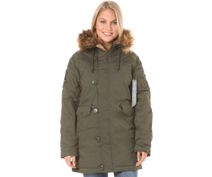 Alpha Industries Explorer Wmn dark green