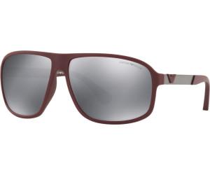 Emporio Armani Herren Sonnenbrille » EA4029«, schwarz, 50638G - schwarz/grau