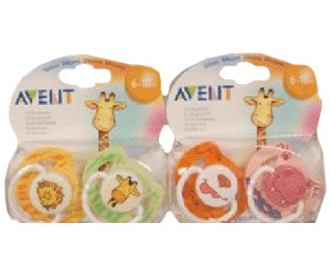 Image of Avent Animal Soothers (6-18 Months)