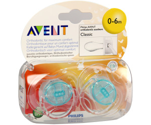 Avent Translucent Soothers (0-6 Months)