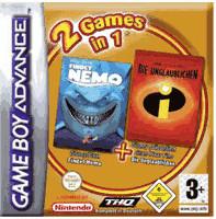 2 Games in 1 - Findet Nemo + Die Unglaublichen ...
