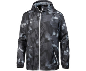 Asics FuzeX Packable Jacke Herren paint geo dark grey