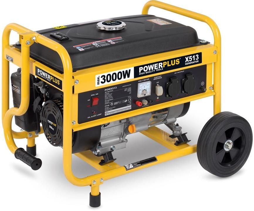 PowerPlus POWX513 Generador 3000W