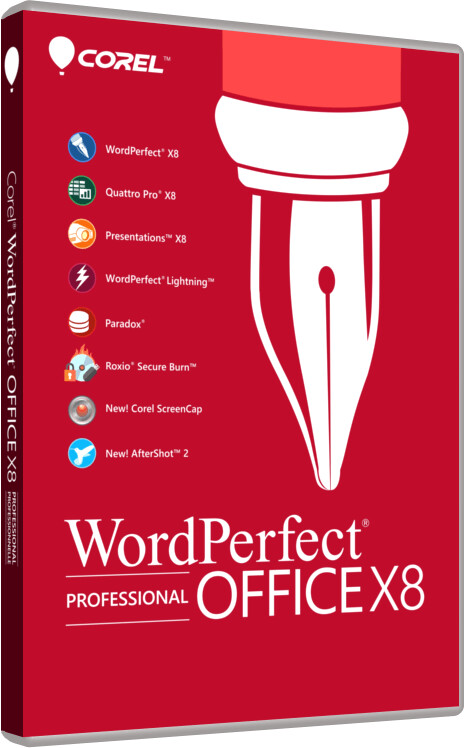 Corel WordPerfect Office X8 Professional