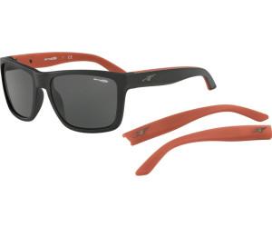 Arnette Herren Sonnenbrille 0AN4177 243487, Schwarz (Matte Black/Grey), 59