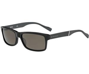 Boss Orange Herren Sonnenbrille » BO 0158/S«, schwarz, 6RE/NR - schwarz/grau