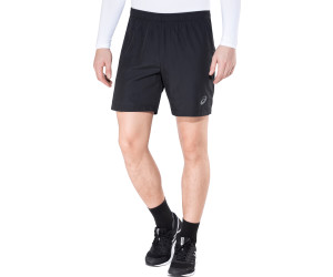Asics 7in Short Performance Black Herren Laufshorts Laufhose Schwarz Bekleidung