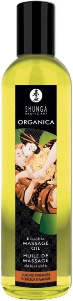 Shunga Kissable Massage Oil Almond Sweetness (2...