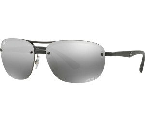 Ray Ban Chromance Rb4275 601s5j Black Polarized Silver