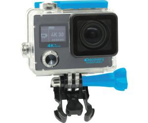 Discovery Adventures Caméra sport 4K Ulta-HD Wi-Fi avec selfie stick