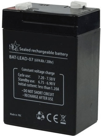 Image of HQ 6V 4000mAh (1 pcs.)