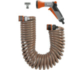 ELMAG 42096 Spiralschlauch 10 m aus Polyurethan 8 x 12 mm mit Kupplung u T/ülle
